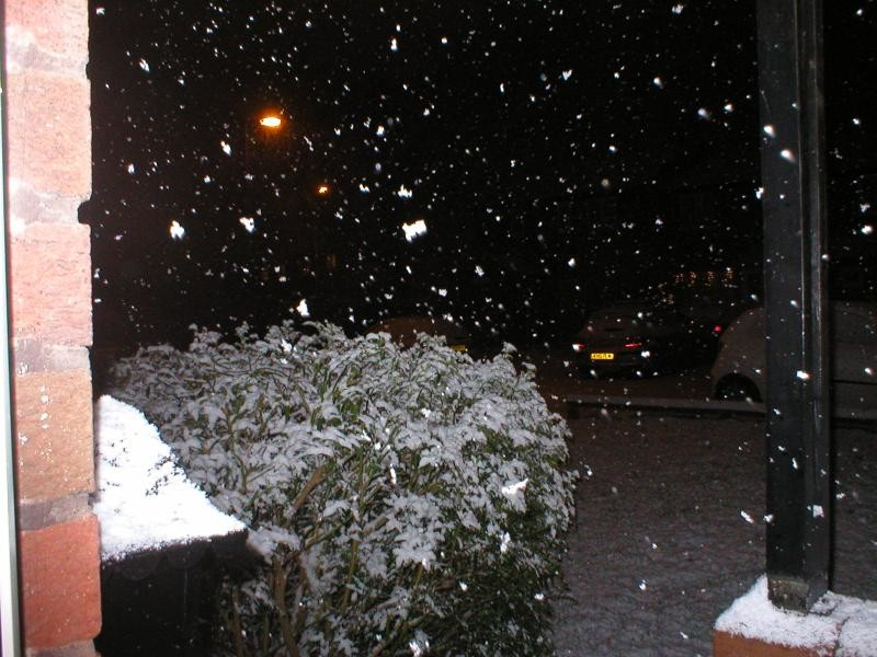 Snow In stafford and Cannock Chase Xmas Day 2004