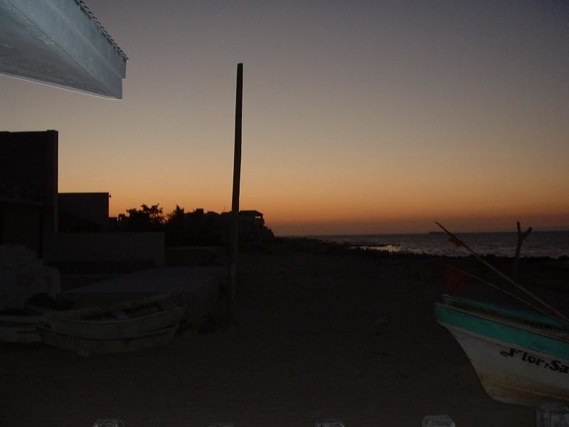 Chixulub Sunset. No Metorites tonight.