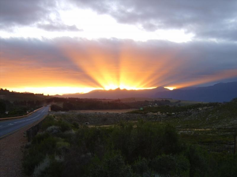 South Africa, February 18th 2005, Overberg Region, Western C
