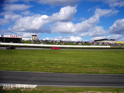 Knockhill clouds