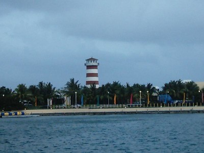 In Grand Bahama Aug 04. Hurricane Rattling close by to Flori