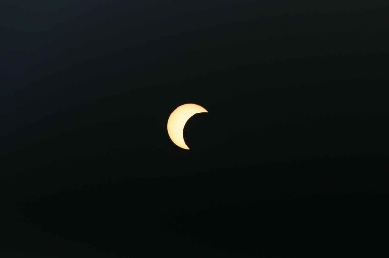 partial solar eclipse 3rd Oct