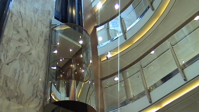 the lift inside the ship