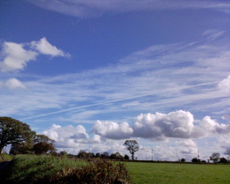 Clouds in Devon