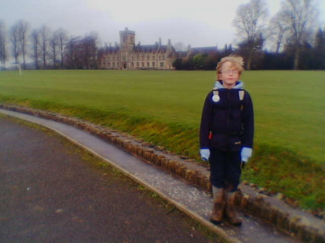 Royal Agricultural College on the outskirts of Cirencester