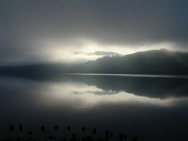 Stratus over Loch Ness