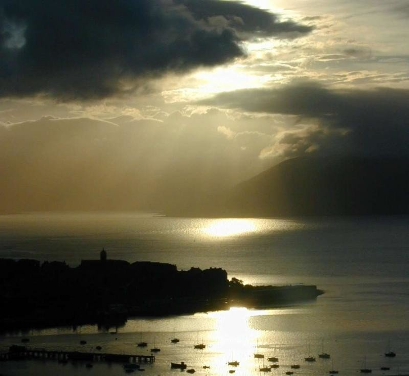 Sunset from Tower Hill Gourock