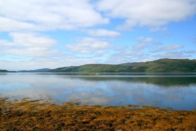 A view across Loch Na Keal on Mull
