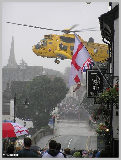 SAR Helicopter in Evesham - 21 July