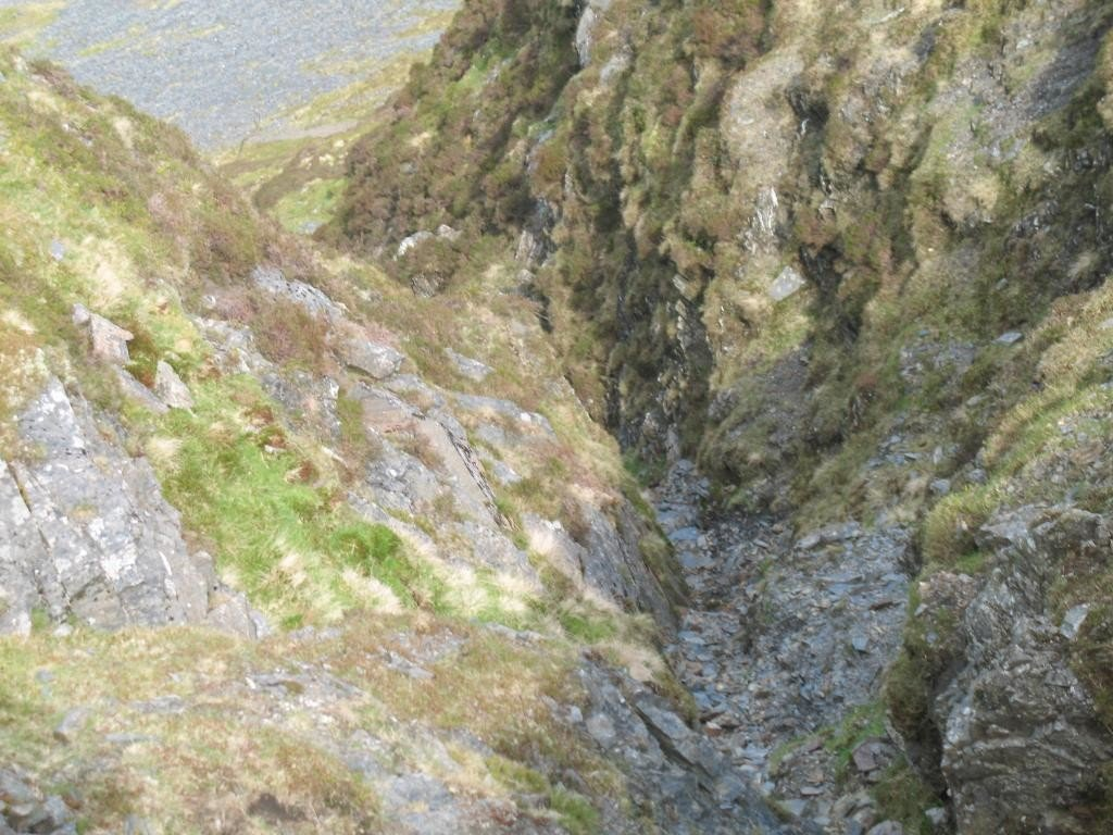 Gully on Bannerdale Crags