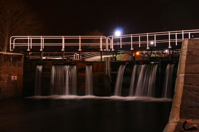Caledonian Canal Lock