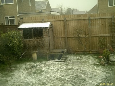 snow in somerset 3rd march