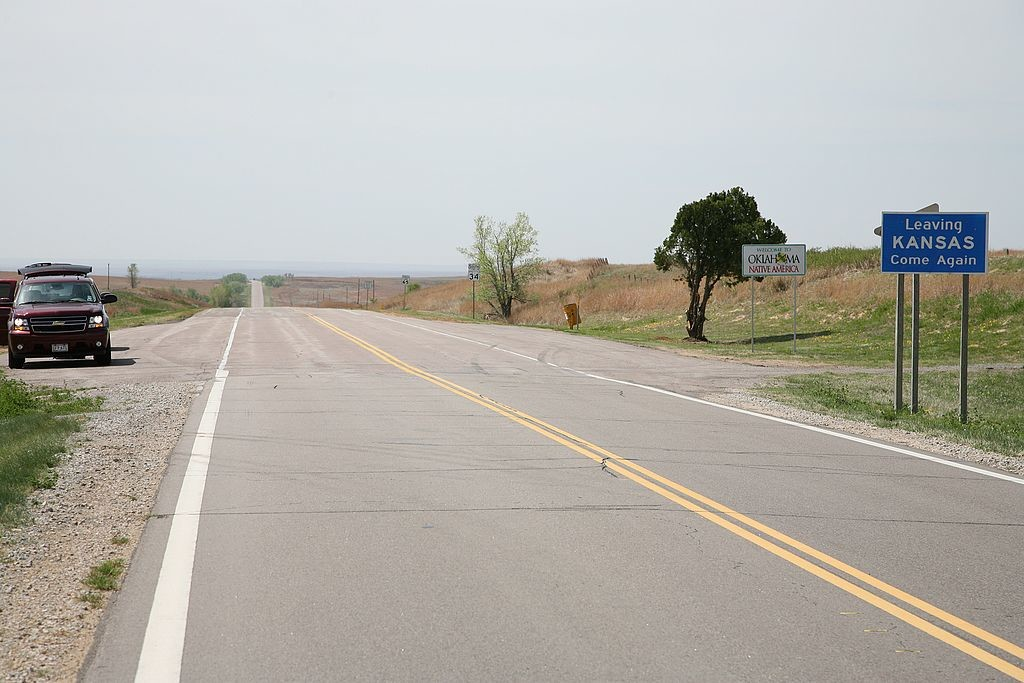 18. Shermanator on the Kansas border, Highway 34 9889.jpg