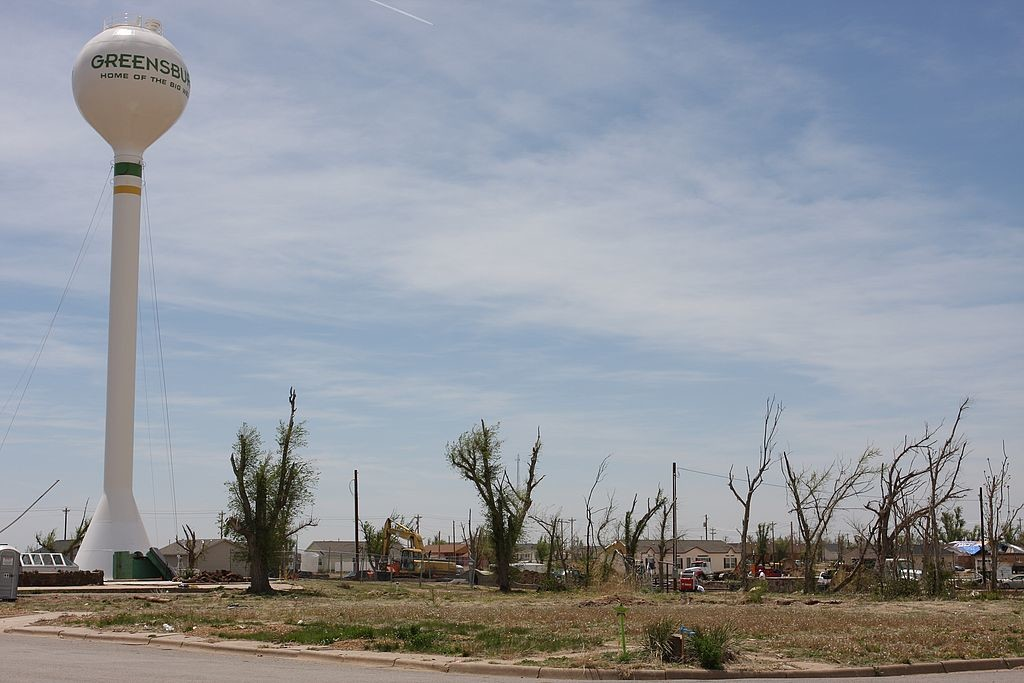 58. Greensburg, Kansas - damage from May 4 2007 tornado 0078