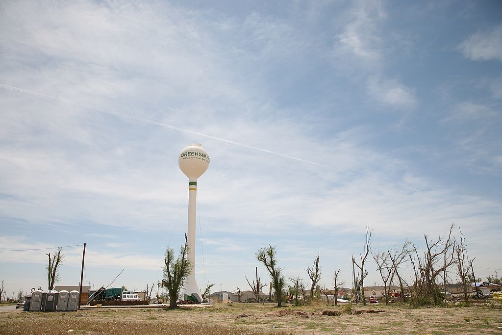 60.Greensburg, Kansas - damage from May 4 2007 tornado 9967.