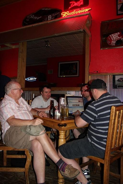 84. NW chasers in Woody's Bar, Pratt, Kansas IMG_0117.jpg