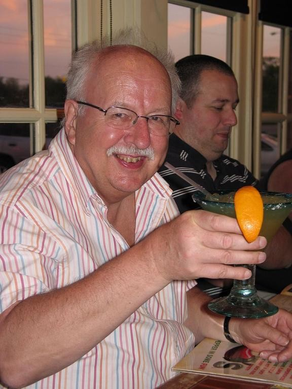 104. Michael Fish and El Nino marguerita, Chili's restaurant