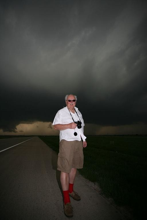 66. Michael Fish with the supercell, near Fredonia, Kansas 0