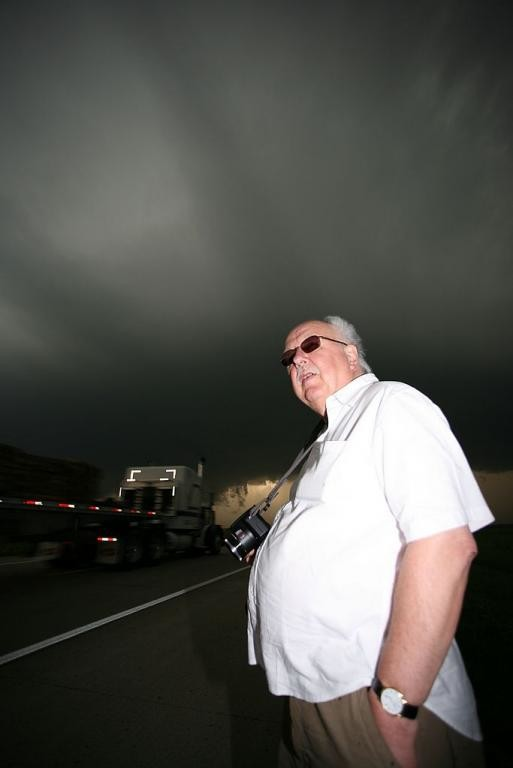 68. Michael Fish with the supercell, near Fredonia, Kansas 0
