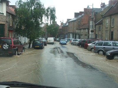 Flooding in Kirbymoorside 18th July 2007