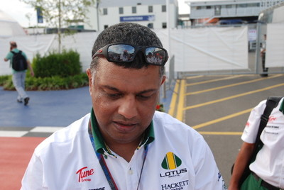 Tony Fernandez. Lotus Team Principle