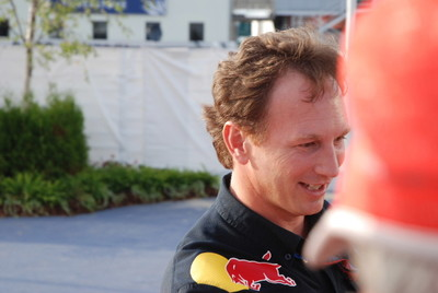 Christian Horner Red Bull Team Principle