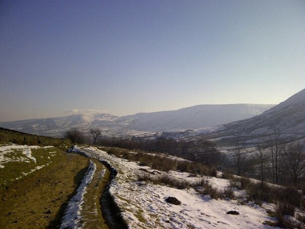 View across the Valley to Mam Tor