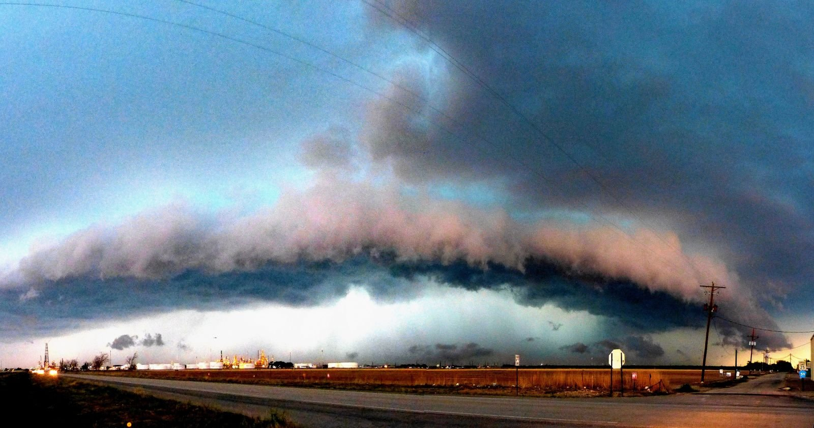 Amazing picture of Supercell over Artesia, NM