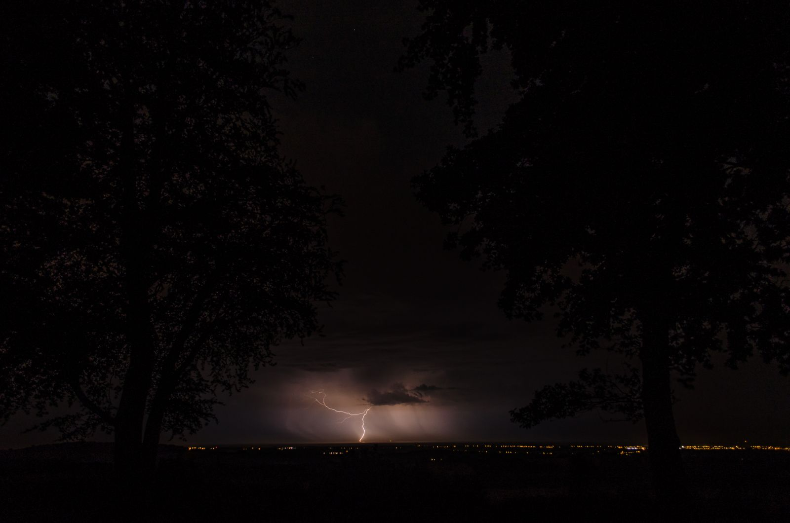 Lightning over Bognor