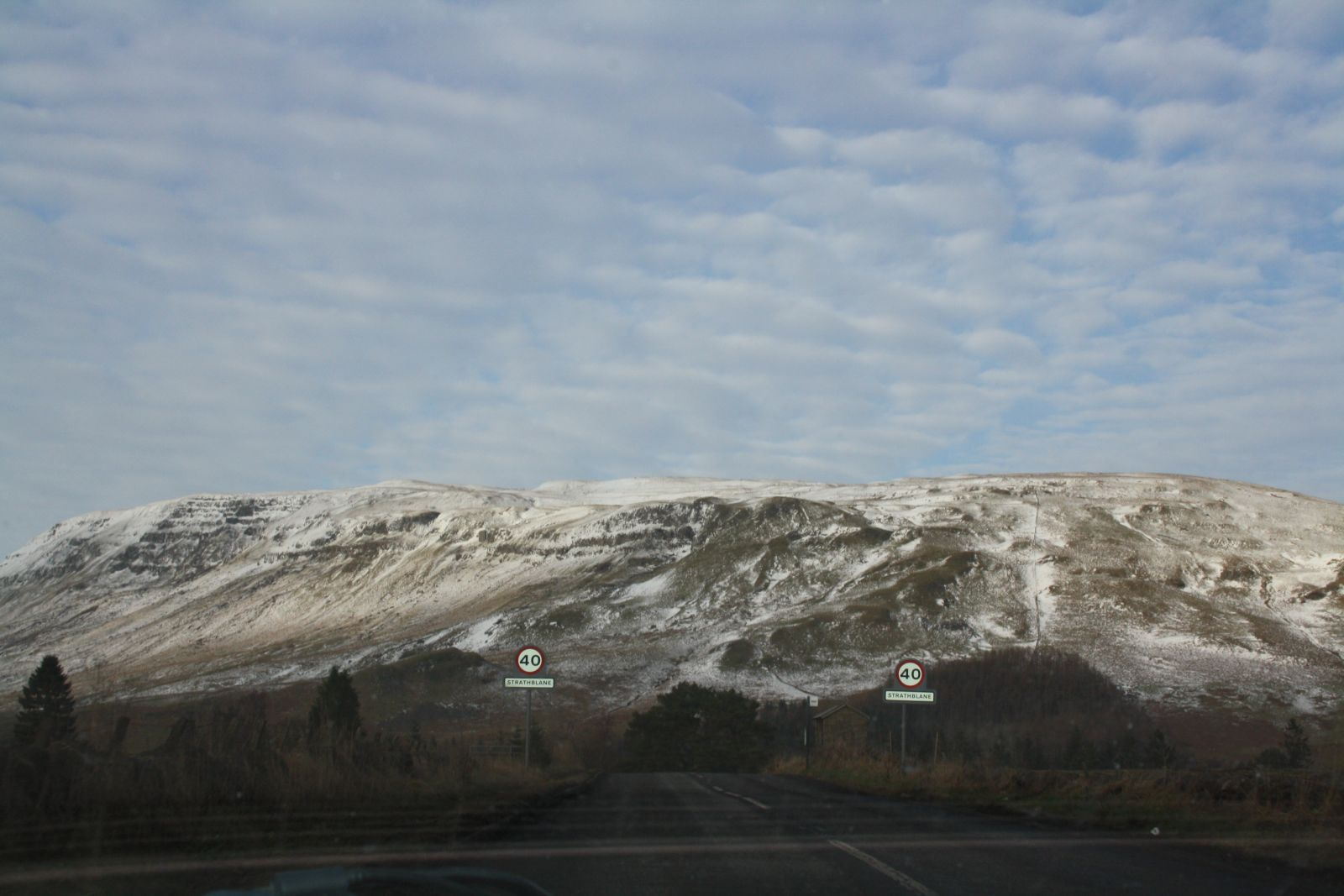 Snow - The Campsies - 24/01/12
