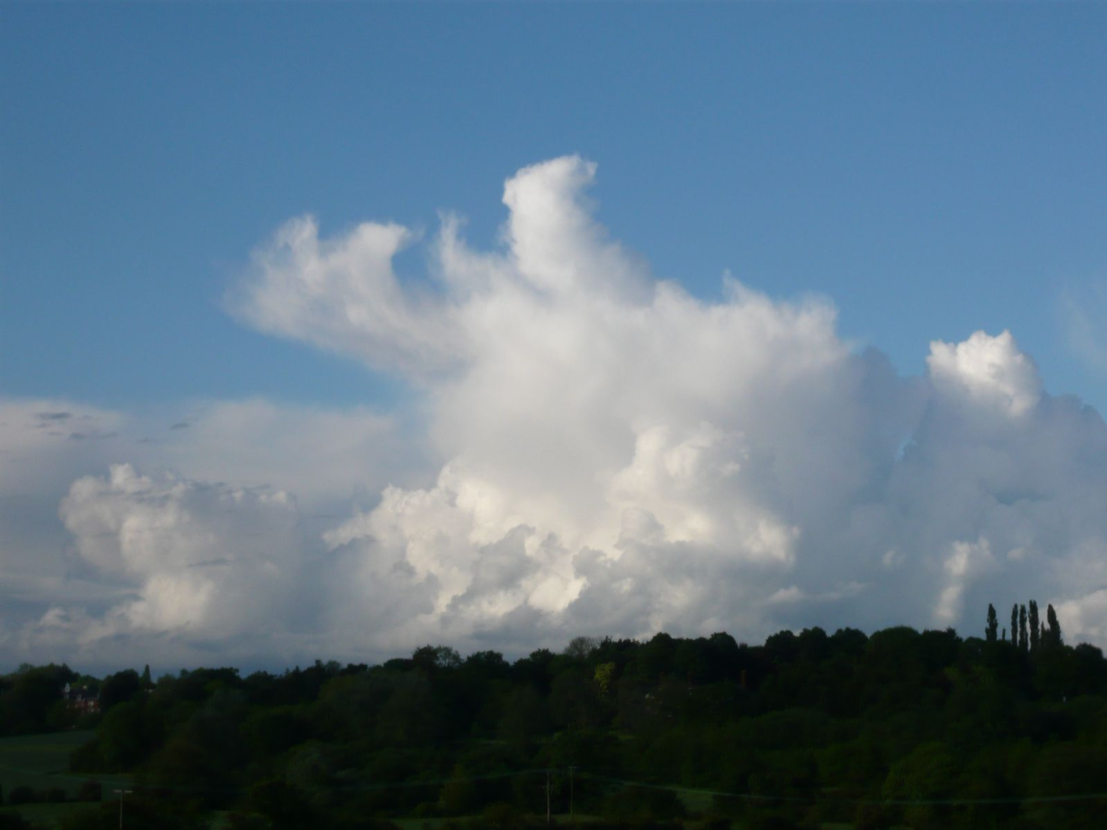 Late afternoon convection in East Essex - 24th May 2014