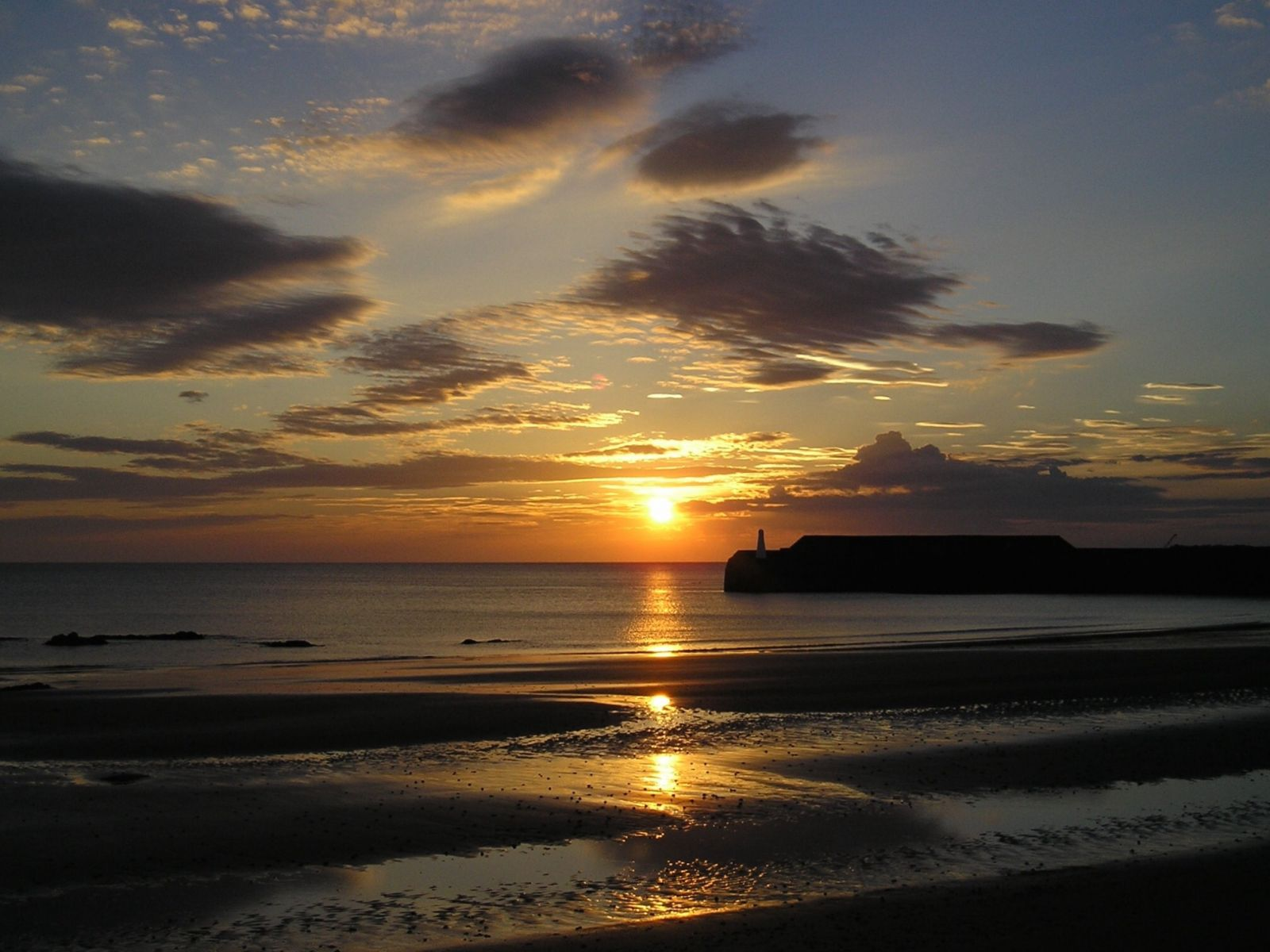 Sunrise at Cullen