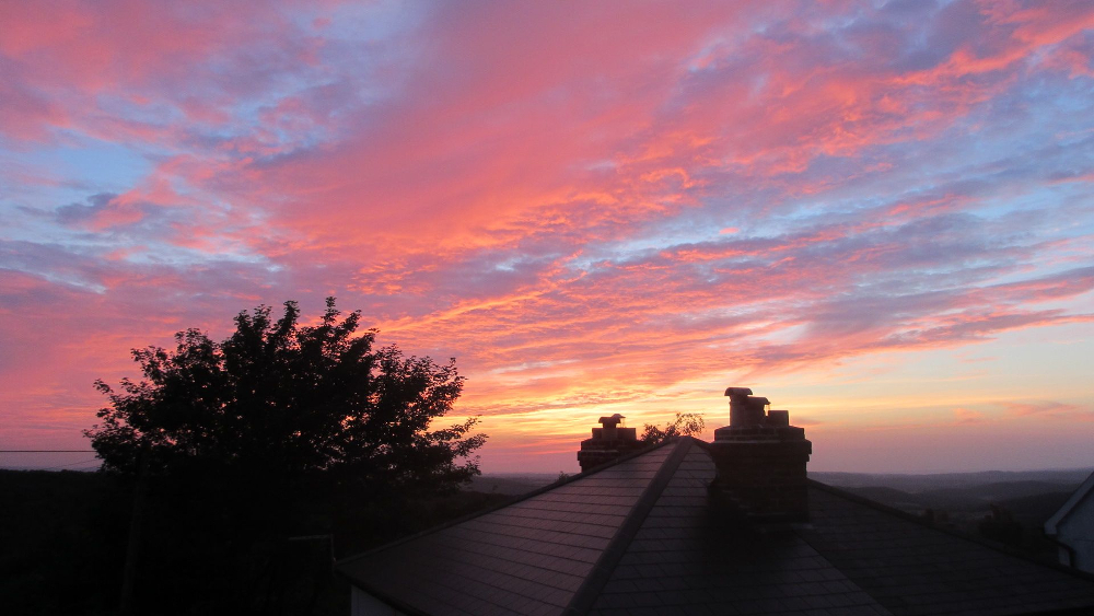 Malvern sunset 13 August 2015
