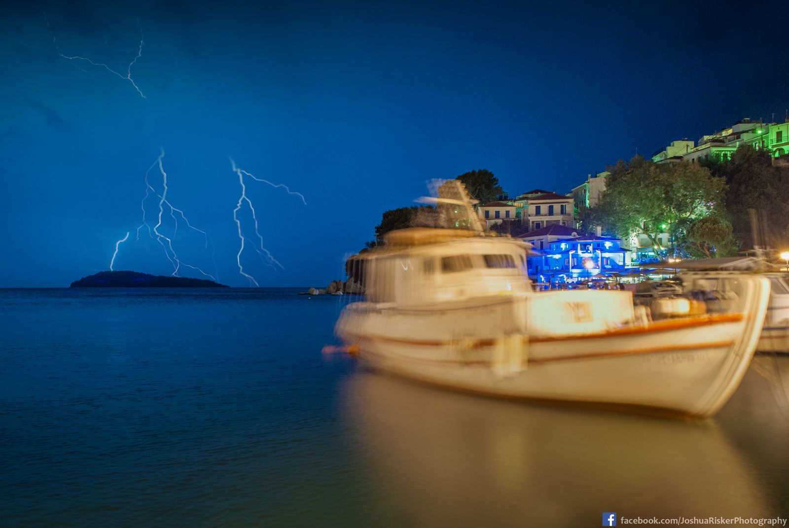 Greek Thunderstorm