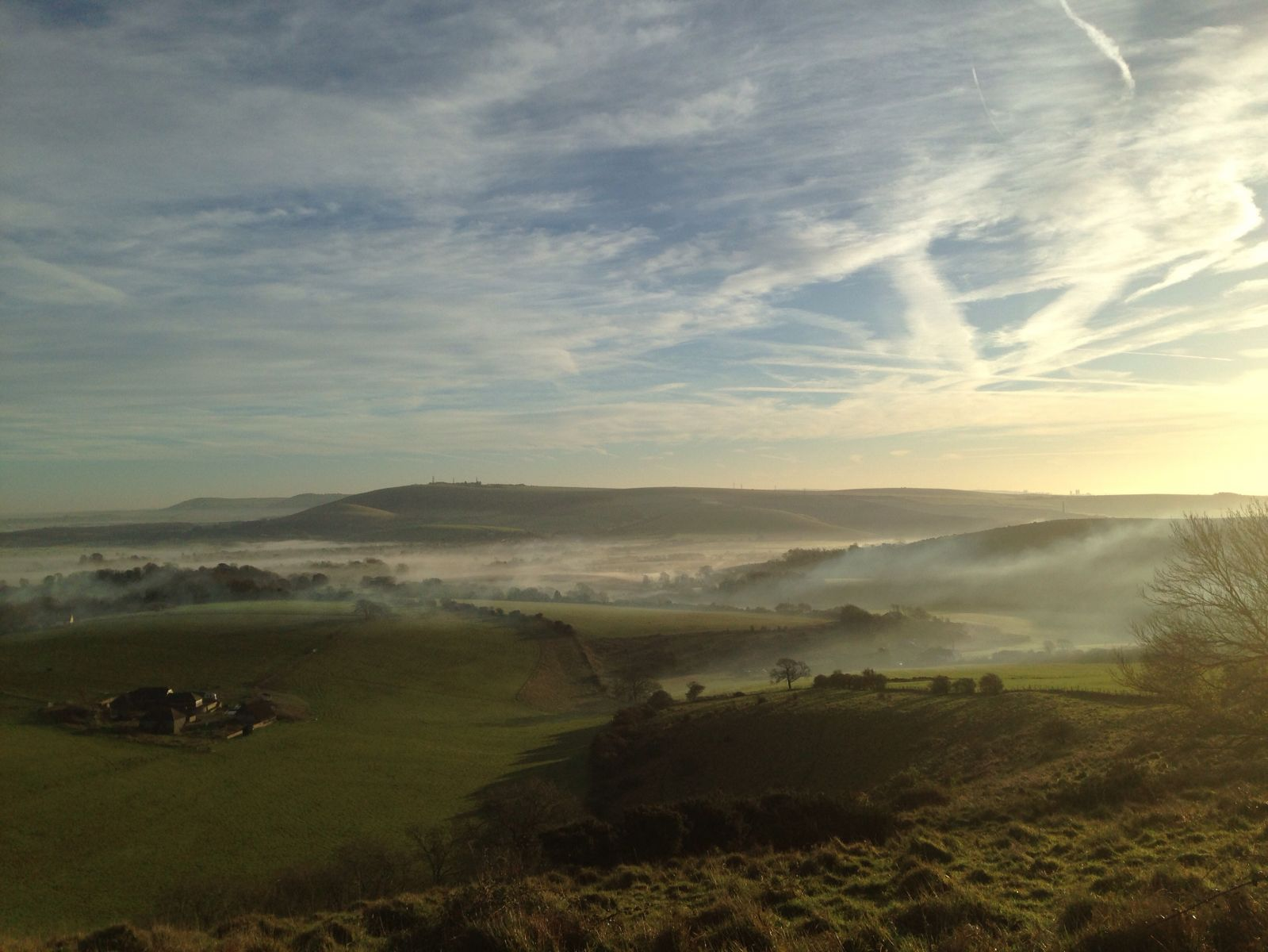 Misty Adur Valley