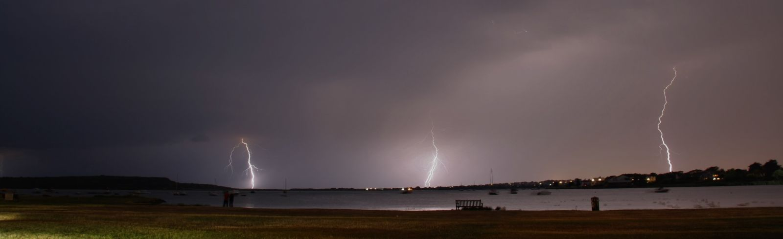 Mudeford Quay Lightning 03/07/2015