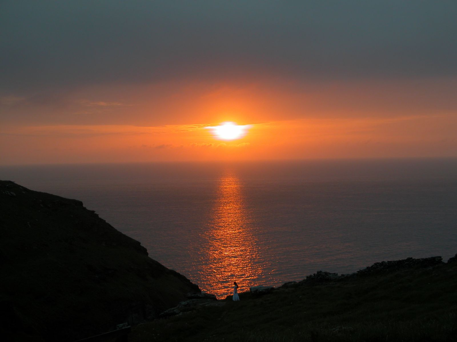 Sunset Tintagel