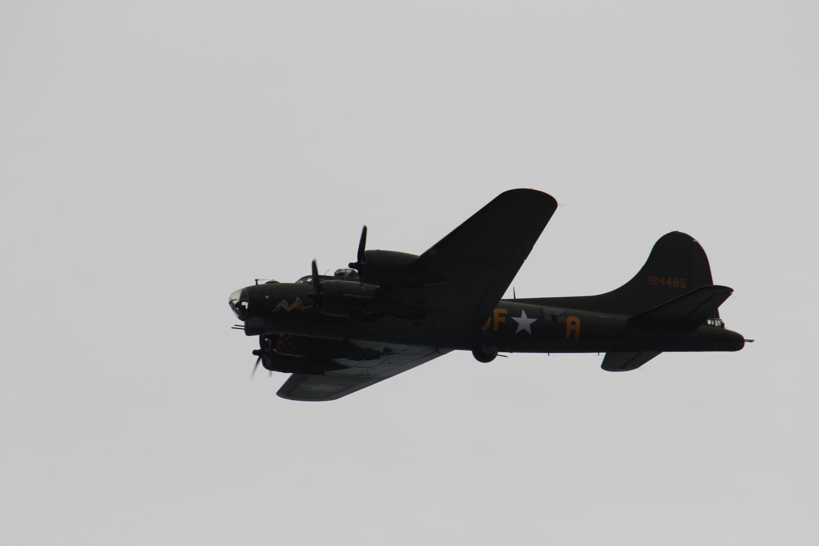 B17 Flying Fortress The Sally B