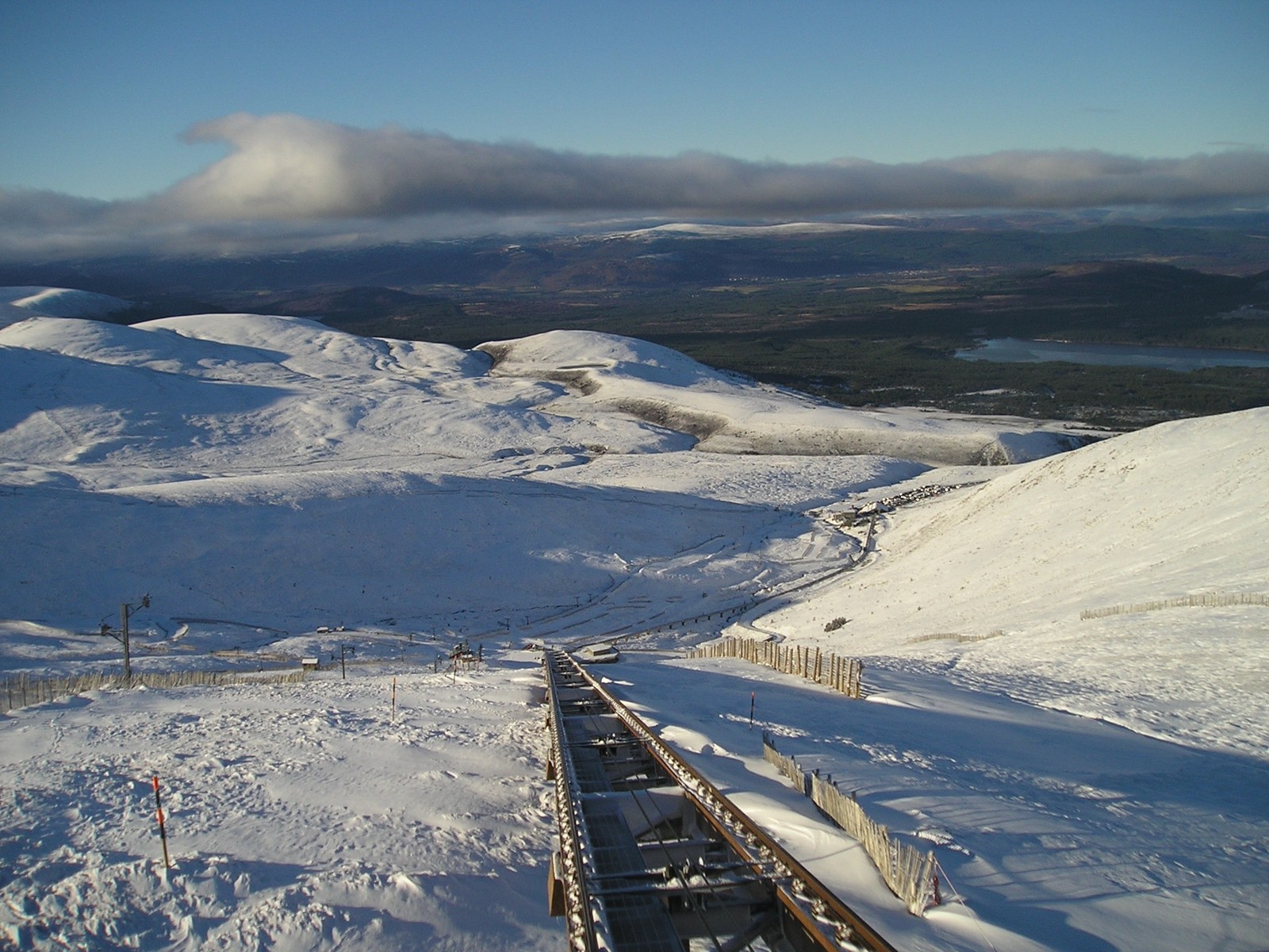 View from the Cairngorm Funicular Railway (29/01/17)