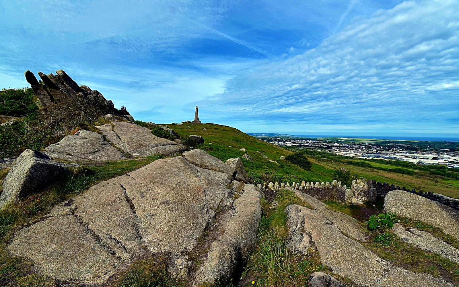A view from Carn Brea