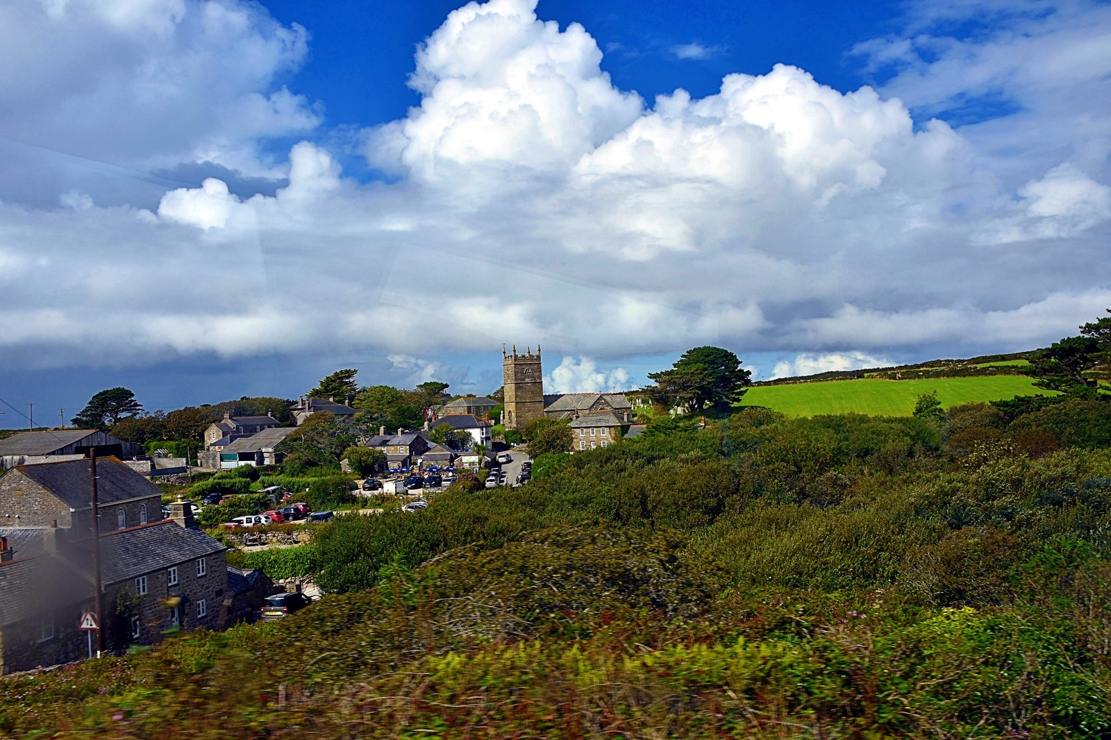 A glimpse of Zennor