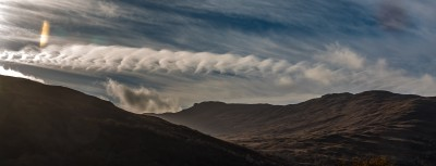 A wavey cloud over Mull